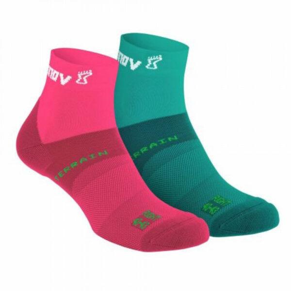 Носки для бега INOV-8 All Terrain Sock Mid Pink средние