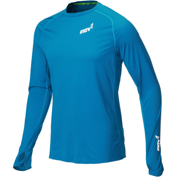 Лонгслив для бега INOV-8 Base Elite LS M Blue мужской