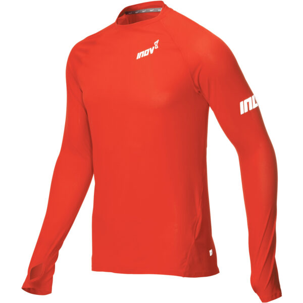 Лонгслив для бега INOV-8 AT/C Base LS M Red мужской
