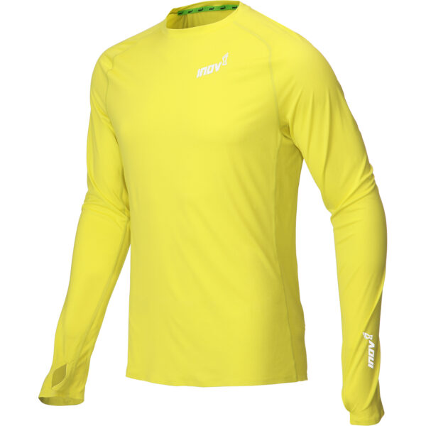 Лонгслив для бега INOV-8 Base Elite LS M Yellow мужской
