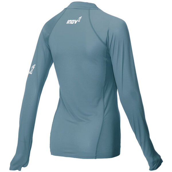 Лонгслив для бега INOV-8 AT/C Base LS W BLUE GREY женский