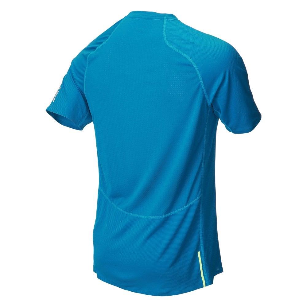 Футболка для бега INOV-8 Base Elite Blue мужская