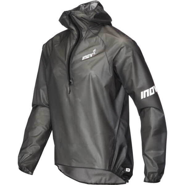 Куртка мембранная для бега INOV-8 AT/C UltraShell HZ U Black унисекс