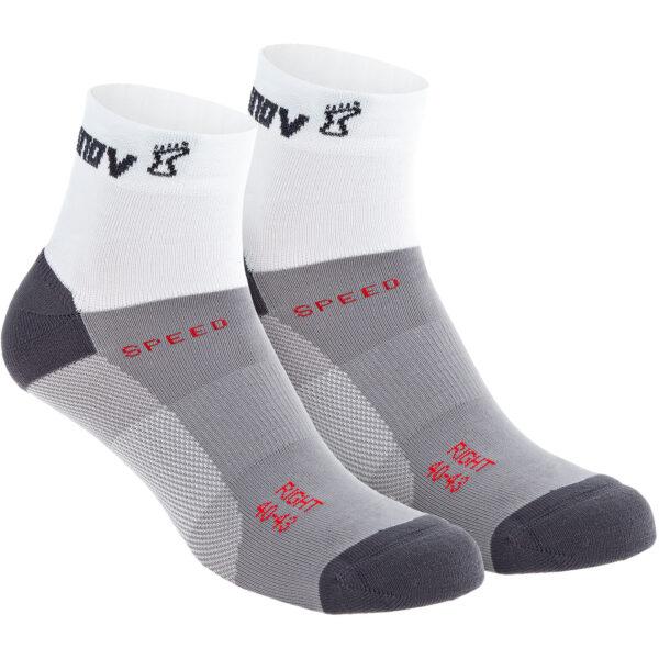 Носки для бега INOV-8 Speed Sock Mid White средние
