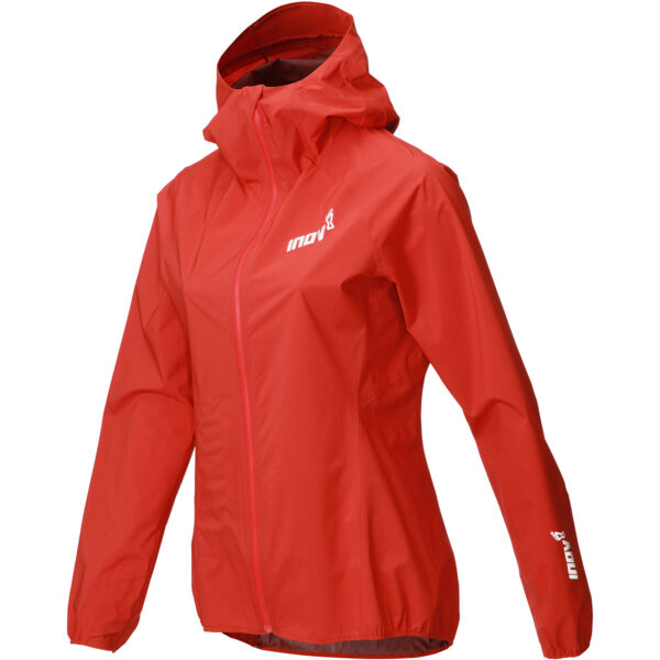 Куртка мембранная для бега INOV-8 AT/C Stormshell FZ Red женская