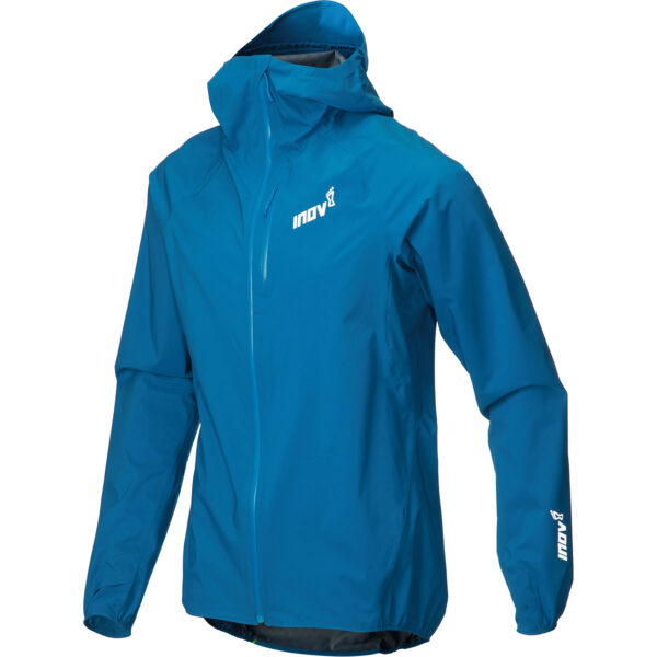 Куртка мембранная для бега INOV-8 AT/C Stormshell FZ M Blue мужская