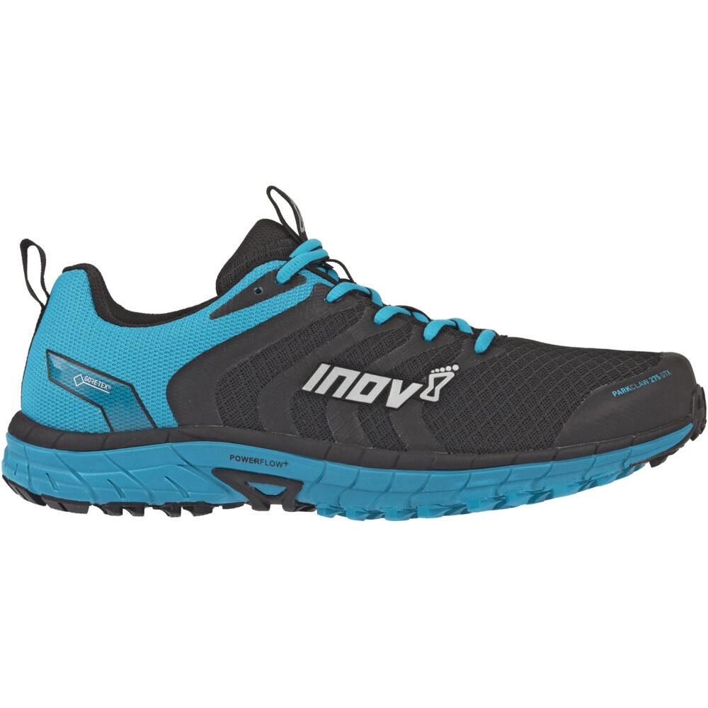 Кроссовки для бега INOV-8 Parkclaw 275 GTX Black/Blue мужские трейловые непромокаемые