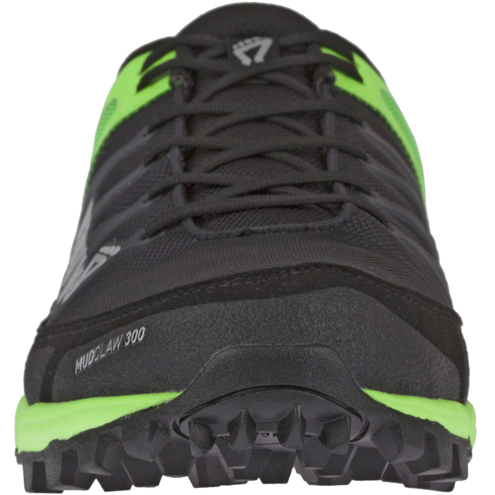 Кроссовки для бега INOV-8 Mudclaw 300 Black/Green мужские