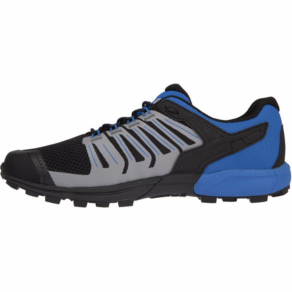 Кроссовки для бега INOV-8 Roclite 275 G Black/Blue трейловые мужские с графеном