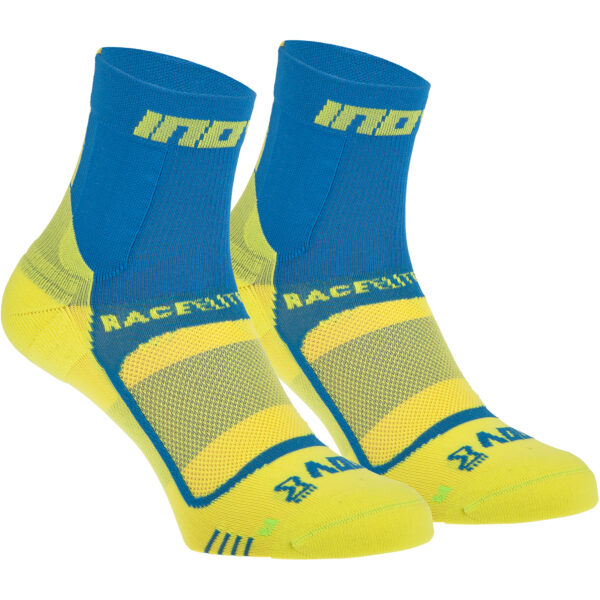 Носки для бега INOV-8 Race Elite Pro Sock Blue/Yellow компрессионные S
