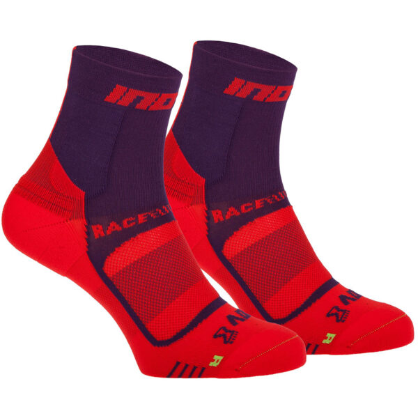 Носки для бега INOV-8 Race Elite Pro Sock Purple/Red компрессионные
