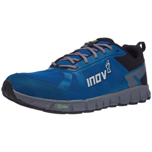 Кроссовки для бега INOV-8 Terraultra G 260 Blue/Grey мужские трейловые с графеном