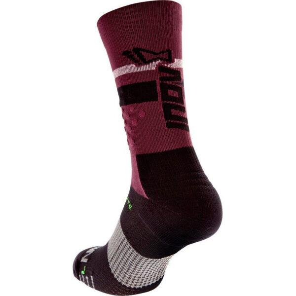 Носки для бега, фитнесса и кроссфита INOV-8 F-Lite Crew Sock Purple/Black высокие