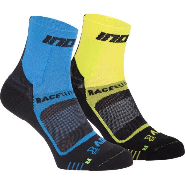 Носки для бега INOV-8 Race Elite Pro Sock Yellow/Black компрессионные S