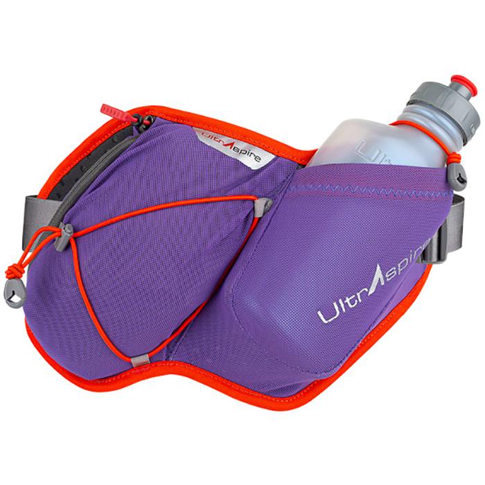 Пояс для бега UltrAspire Essential Bottle Violet с флягой