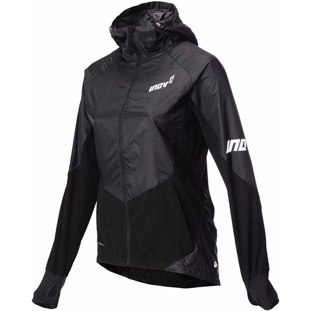 Куртка утепленная для бега INOV-8 AT/C Softshell PRO FZ W Black