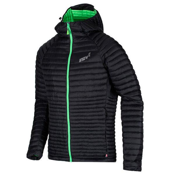 Куртка зимняя для бега INOV-8 Termoshell Pro FZ Black/Green мужская