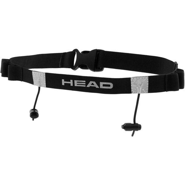 Ремень для крепления номера HEAD Tri Race Belt Black