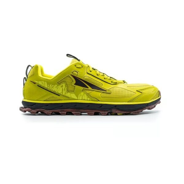 Кроссовки для бега Altra Lone Peak 4.5 Lime/Red трейловые мужские