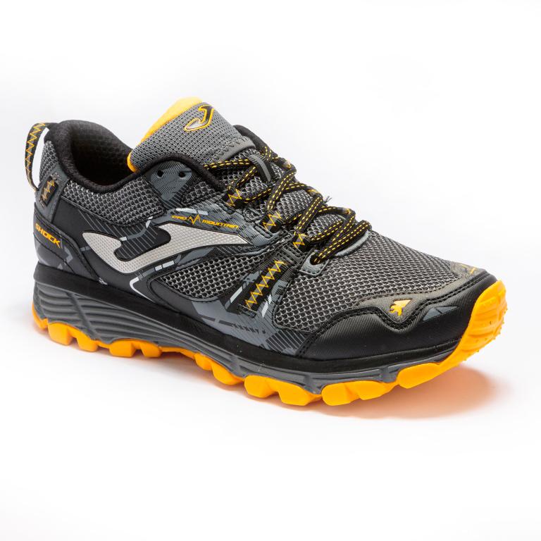 Кроссовки для бега Joma Shock Black/Grey трейловые мужские