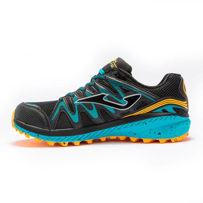Кроссовки для бега Joma Trek Black/Blue трейловые мужские