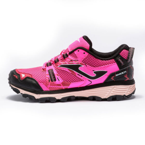 Кроссовки для бега Joma Shock Lady Pink трейловые женские