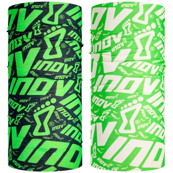 Бафф INOV-8 WRAG Black Green/Green White 2 шт. унисекс