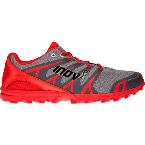 Кроссовки для бега INOV-8 Trailtalon 235 Grey/Red трейловые мужские