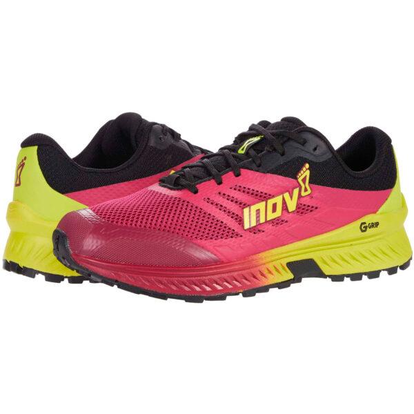 Кроссовки для бега INOV-8 Trailroc G 280 Pink/Yellow трейловые женские