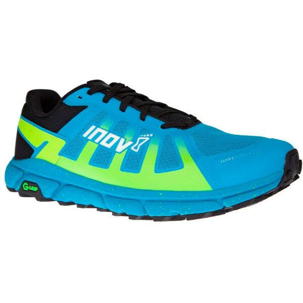 Кроссовки для бега INOV-8 Terraultra G 270 Blue/Yellow трейловые женские
