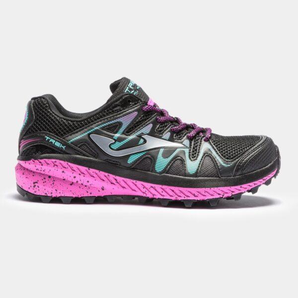 Кроссовки для бега Joma Trek Lady Black/Purple трейловые женские