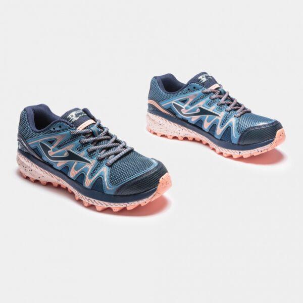 Кроссовки для бега Joma Trek Lady Blue/Pink трейловые женские