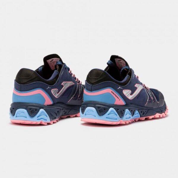 Кроссовки для бега Joma Sierra 5 Lady Navy Pink трейловые женские