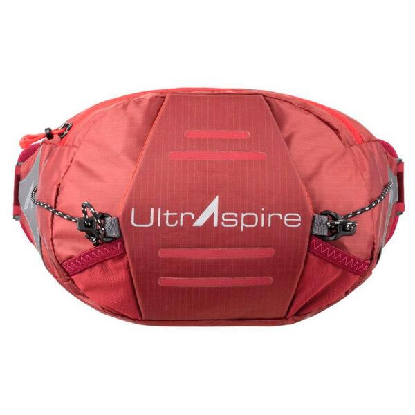 Поясная сумка для бега UltrAspire Plexus Waist Pack Burgundy Gherry Tomato