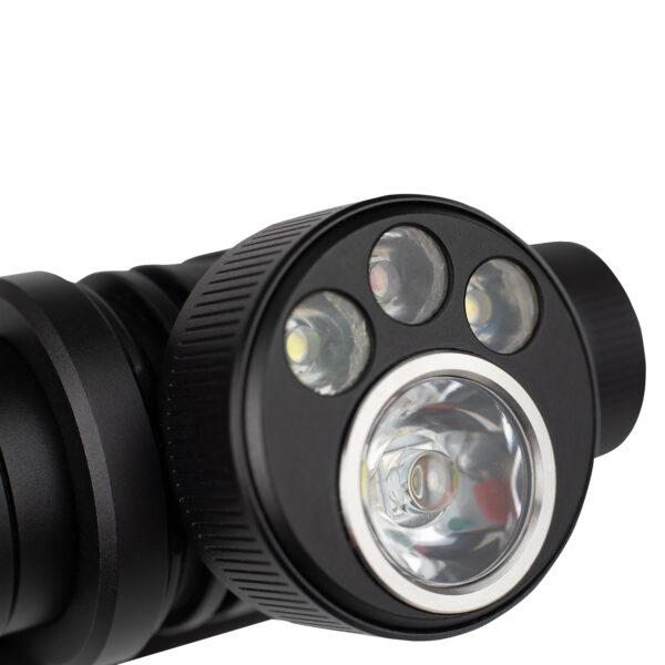Фонарь для бега налобный UltrAspire Lumen 650 Oculus Headlamp Black/Grеy