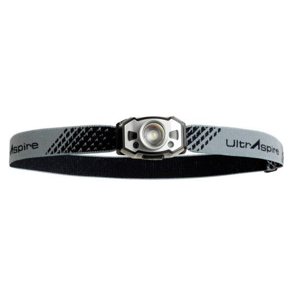 Фонарь для бега налобный UltrAspire Lumen 300 Sidekick Headlamp Black/Grеy