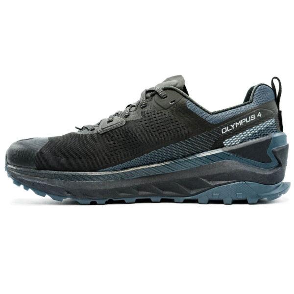 Кроссовки для бега Altra Olympus 4.0 Black/Steel трейловые мужские