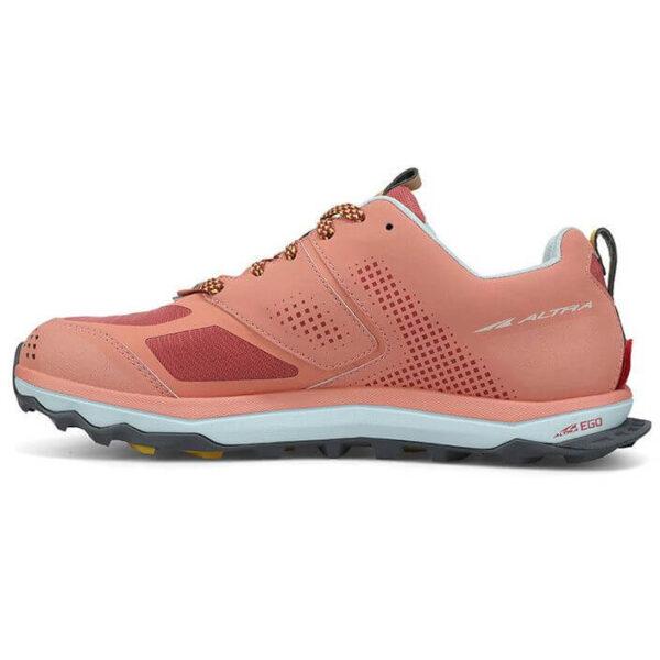 Кроссовки для бега Altra Lone Peak 5 Rose/Coral трейловые женские